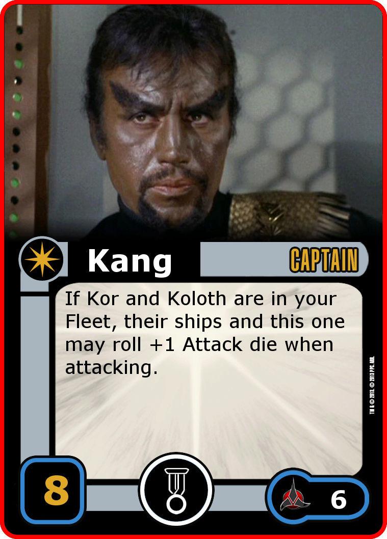 Verstärkung für das Klingonische Reich Kang11