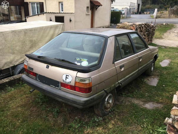Renault 11 Automatique 1984 Renaul13