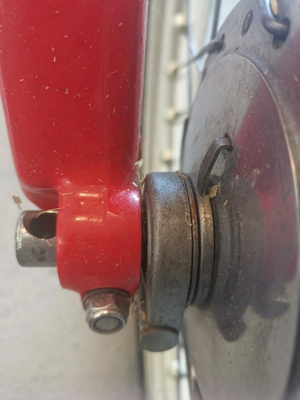 axe de roue avant montesa cota 80 0-210