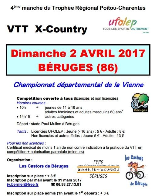 Béruges (86) 2 avril 2017 Cham dpt Vienne UFOLEP Screen37