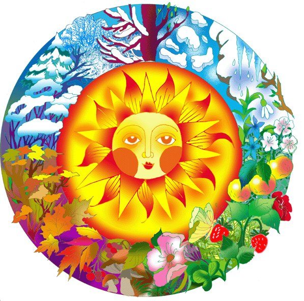 Сказочная картинка солнце