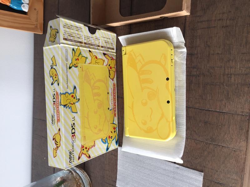 j'ai acheté la new 3DS XL pikachu sur ebay Img_2112