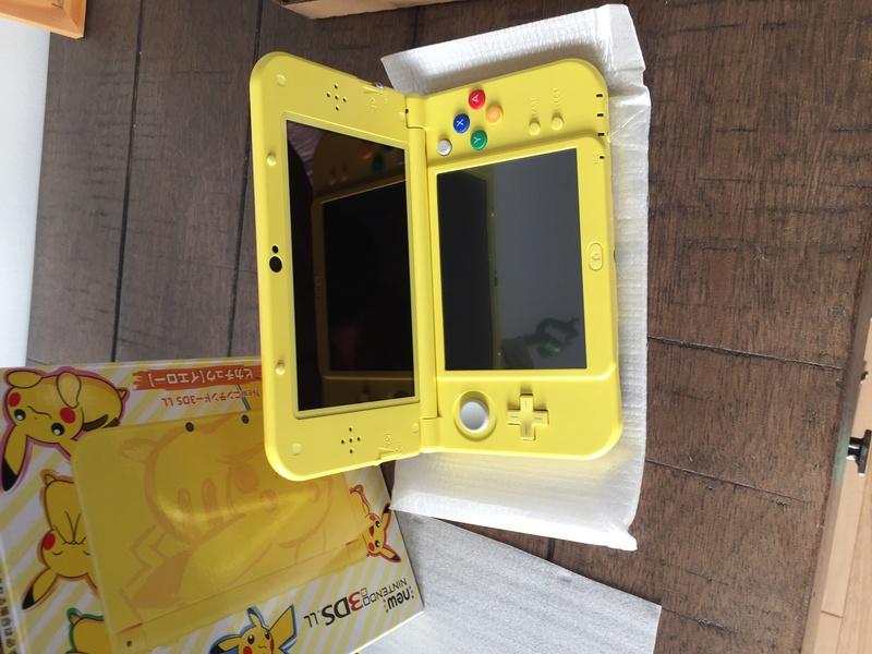 j'ai acheté la new 3DS XL pikachu sur ebay Img_2113
