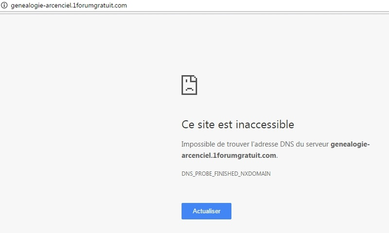 """ERR_NAME_RESOLUTION_FAILED"" : Forum inaccessible suite à un problème de DNS Site_i12"