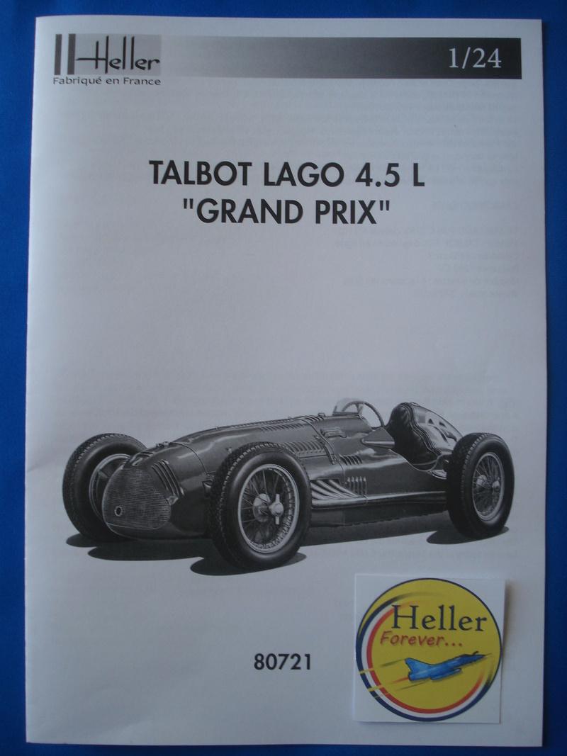 [HELLER] Talbo Lago GP - ref : 80721 -1/24e / Réedition 2016 Dsc06031