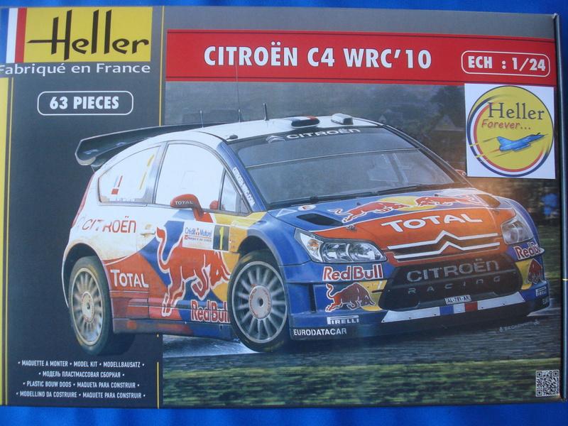 [HELLER] CITROEN C4 WRC '10 - 1/24e ref : 80756 Dsc06036
