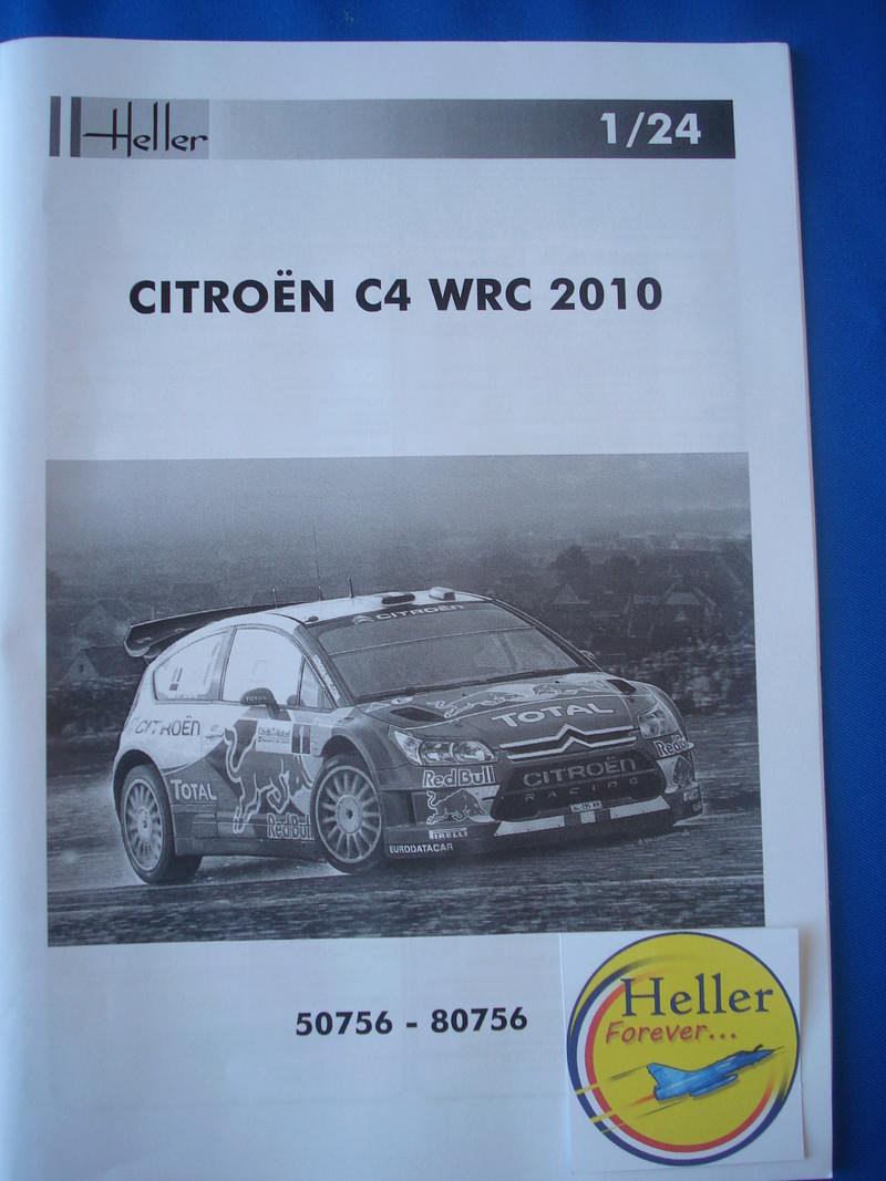 [HELLER] CITROEN C4 WRC '10 - 1/24e ref : 80756 Dsc06061