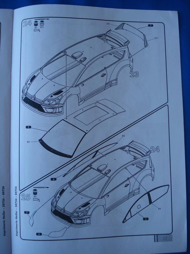 [HELLER] CITROEN C4 WRC '10 - 1/24e ref : 80756 Dsc06071