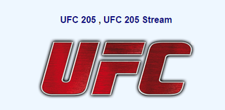 UFC 205 , UFC 205 Stream 110