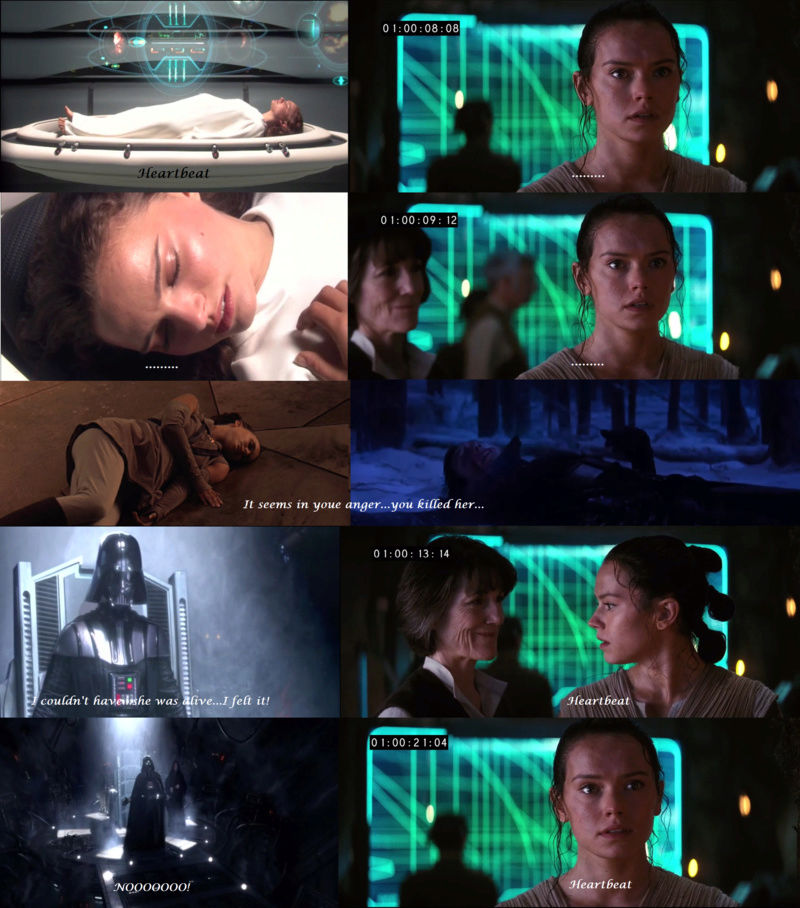 ARCHIVE: Rey and Kylo - Beauty and the Beast, Scavenger and the Monstah, Their Bond, His Love, Her Confused Feelings - 12 - Page 39 1011