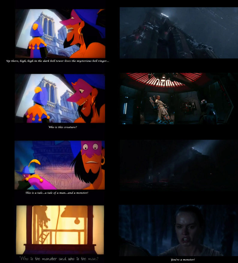 ARCHIVE: Rey and Kylo - Beauty and the Beast, Scavenger and the Monstah, Their Bond, His Love, Her Confused Feelings - 13 - Page 6 Screen37