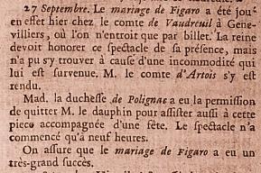 Le Mariage de Figaro, de Beaumarchais 20805010