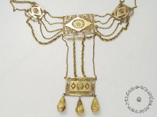 """Les colliers """"en esclavage"""" des XVIIIe et XIXe siècles - Page 2 428710"""