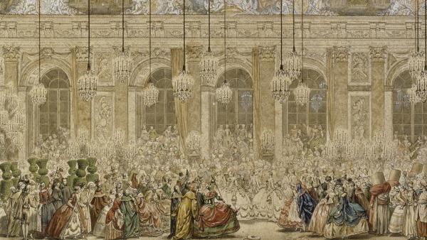 """Exposition à Versailles """"Fêtes et divertissements à la cour. Bal_ma10"""