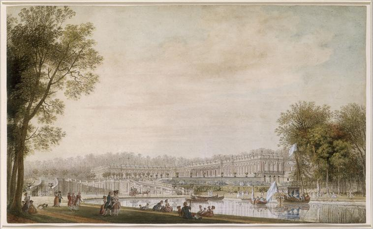 Versailles, le Grand Canal Canot_10