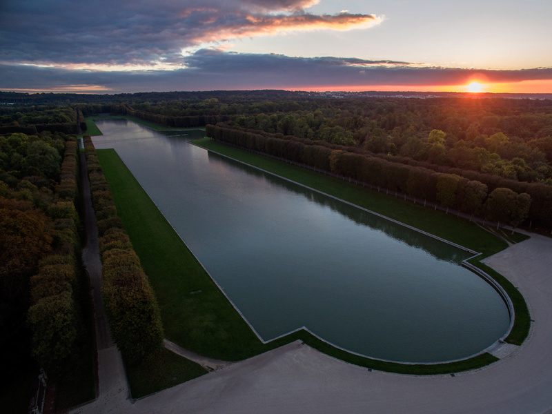 Versailles, le Grand Canal Gc110