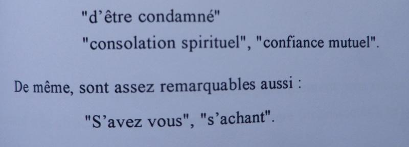 Testament / Lettre de Marie-Antoinette à Madame Elisabeth, le 16 octobre 1793 Imgp5365