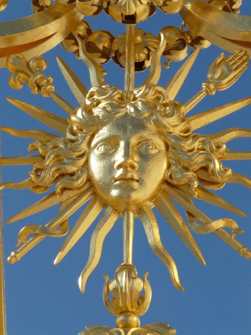 La symbolique solaire dans les jardins du château de Versailles Le-roi10