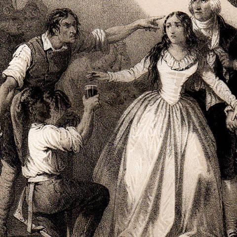 Mlle de Sombreuil, l'héroïne au verre de sang