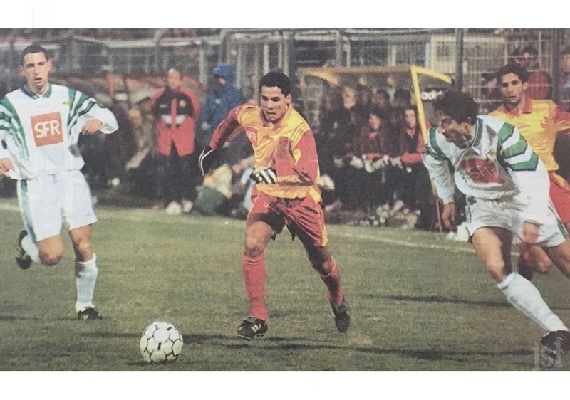 Louhans-Cuiseaux/Nantes de Janvier 1996 en coupe de la ligue Le-12-10