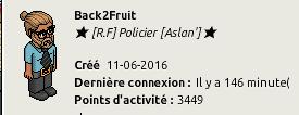 CV de Back2Fruit Rf10