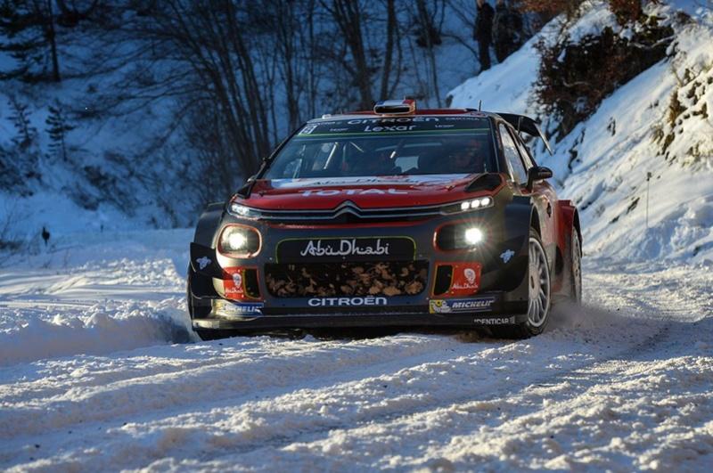 la nouvelle C3 WRC 000196