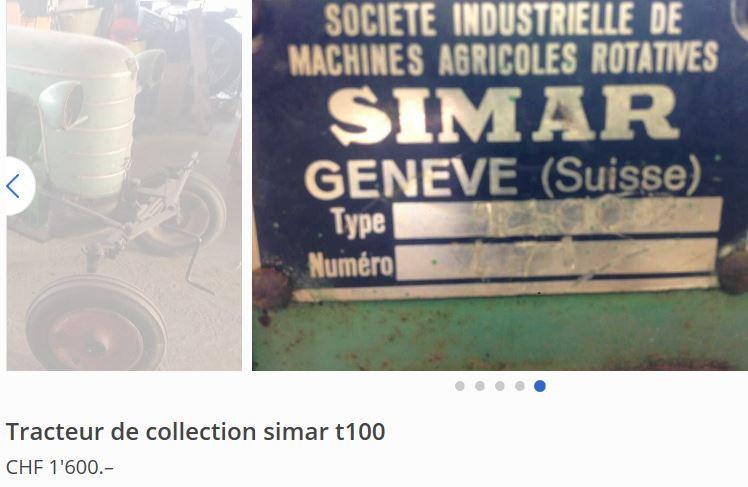simar - Simar T100 à vendre 0_111