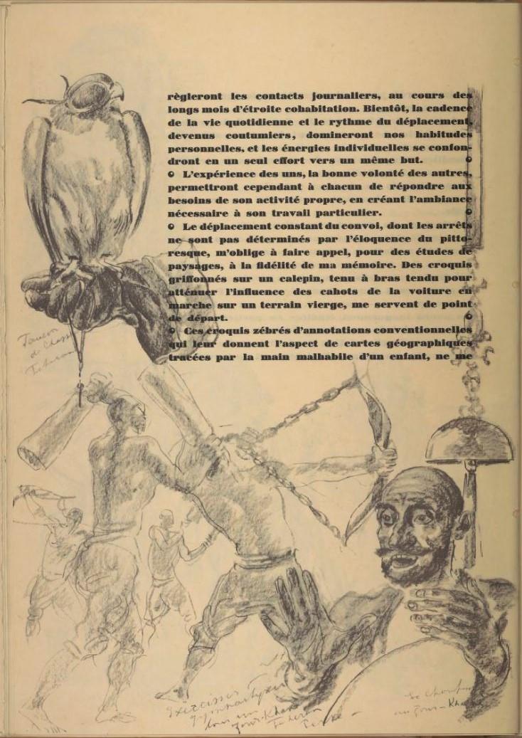 en parallèle de la Croisière Jaune....des dessins ! 1066