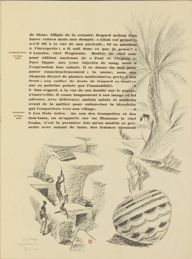en parallèle de la Croisière Noire...des dessins 1069