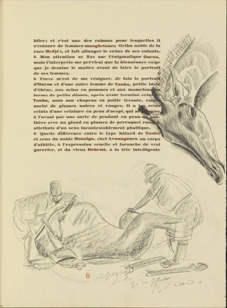 en parallèle de la Croisière Noire...des dessins 12108