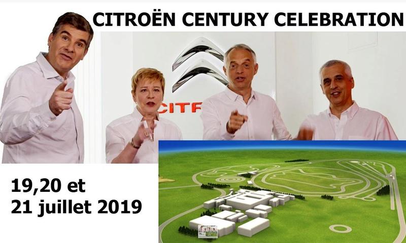 le Centenaire de CITROËN les 19, 20 et 21 juillet 2019 à la Ferté Vidame 1298