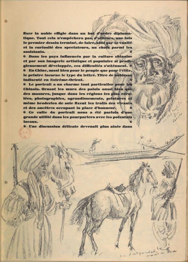 en parallèle de la Croisière Jaune....des dessins ! 14100