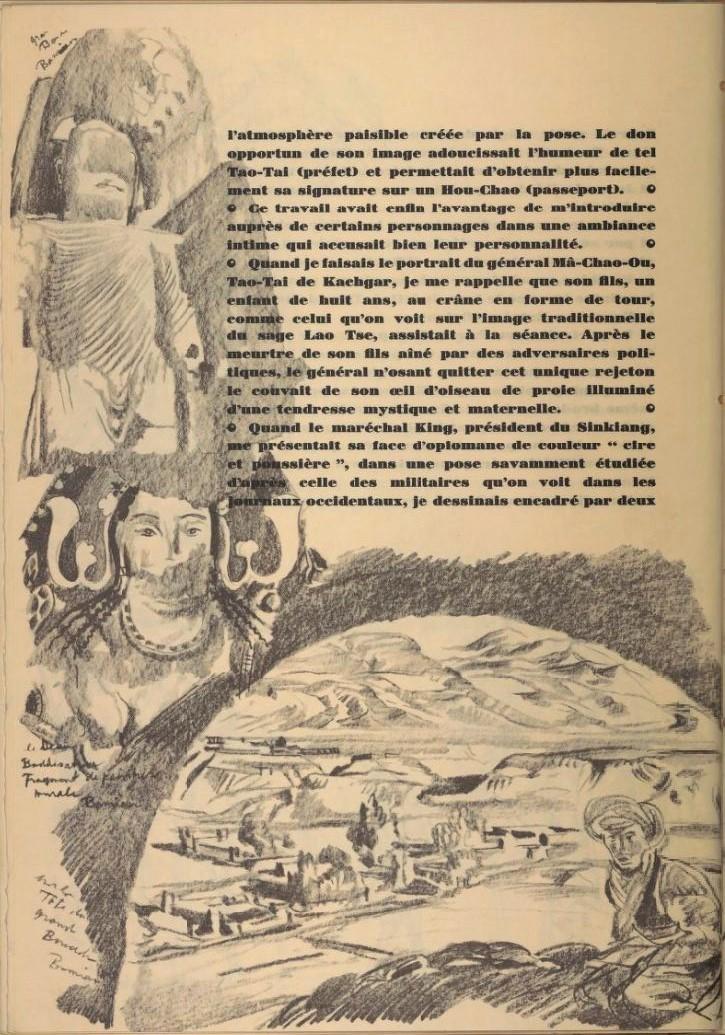 en parallèle de la Croisière Jaune....des dessins ! 14102