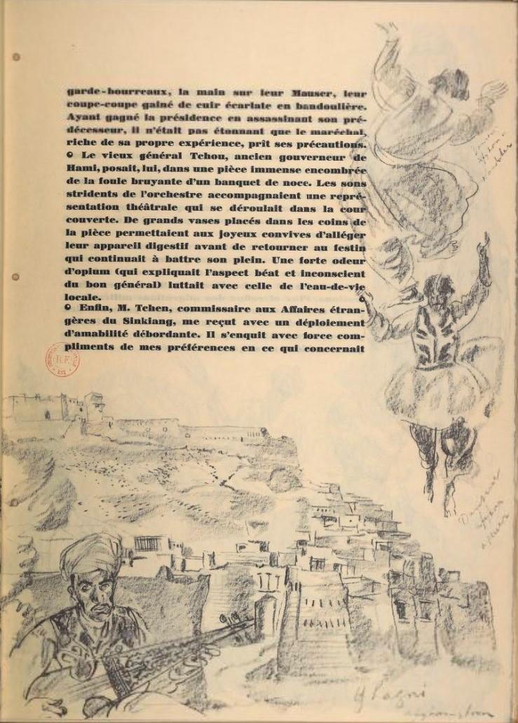 en parallèle de la Croisière Jaune....des dessins ! 1535