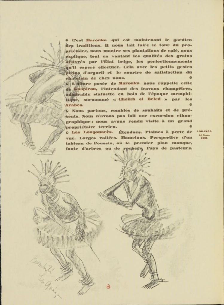 en parallèle de la Croisière Noire...des dessins 1540