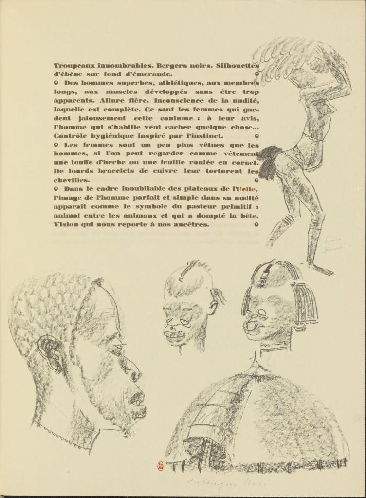 en parallèle de la Croisière Noire...des dessins 1636