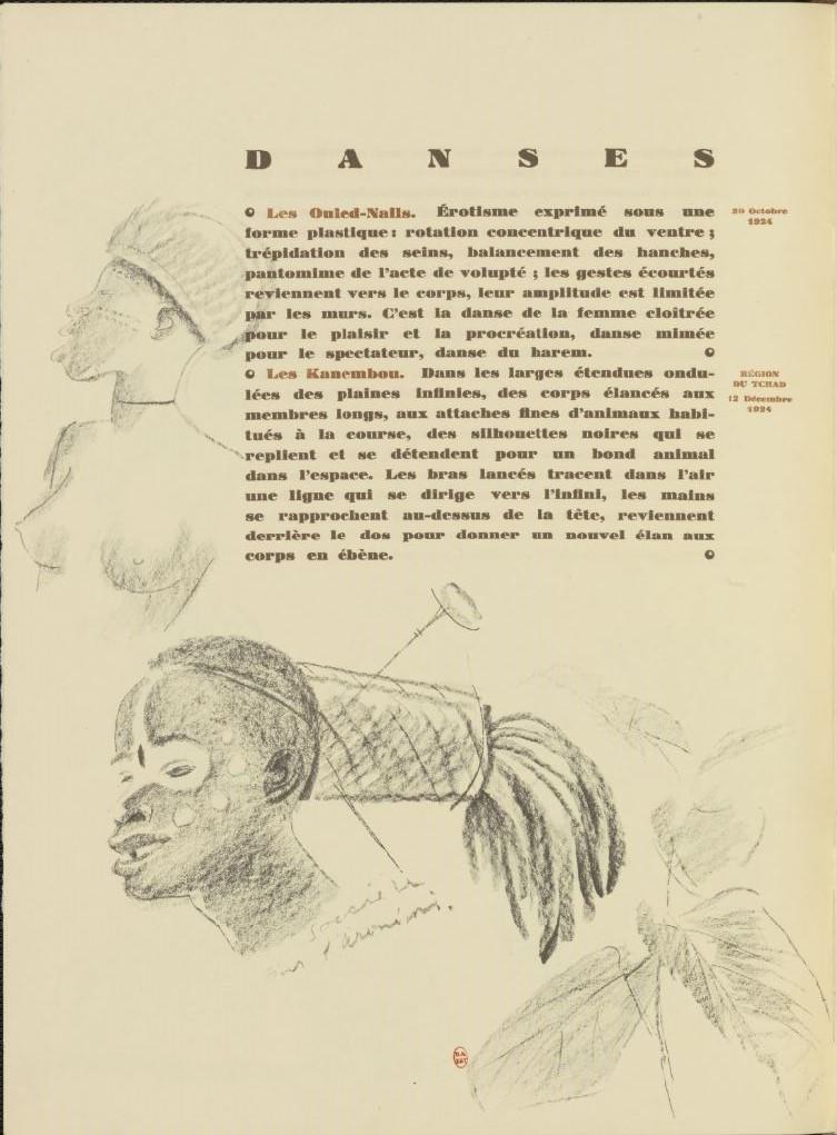 en parallèle de la Croisière Noire...des dessins 1732