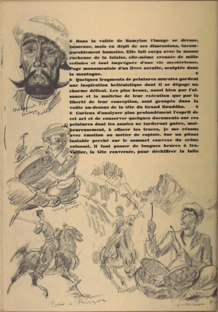 en parallèle de la Croisière Jaune....des dessins ! 1828