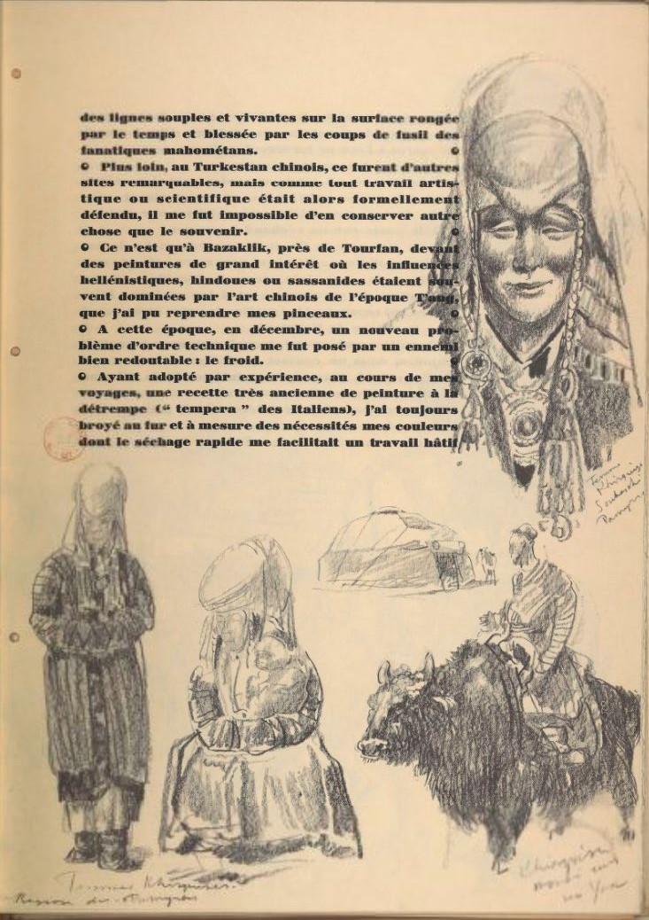 en parallèle de la Croisière Jaune....des dessins ! 1926