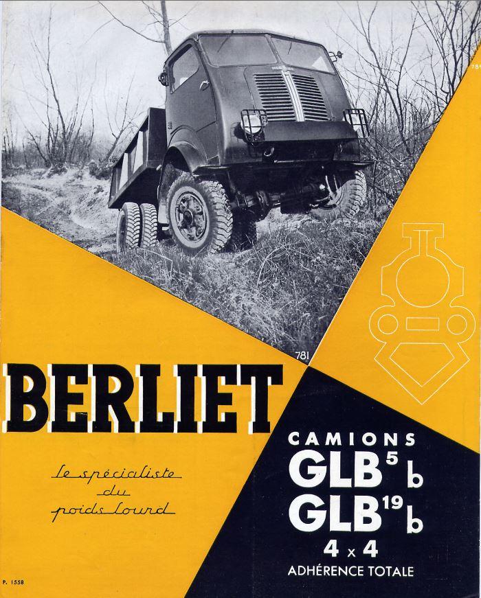 Pub , catalogues et livres sur BERLIET 213