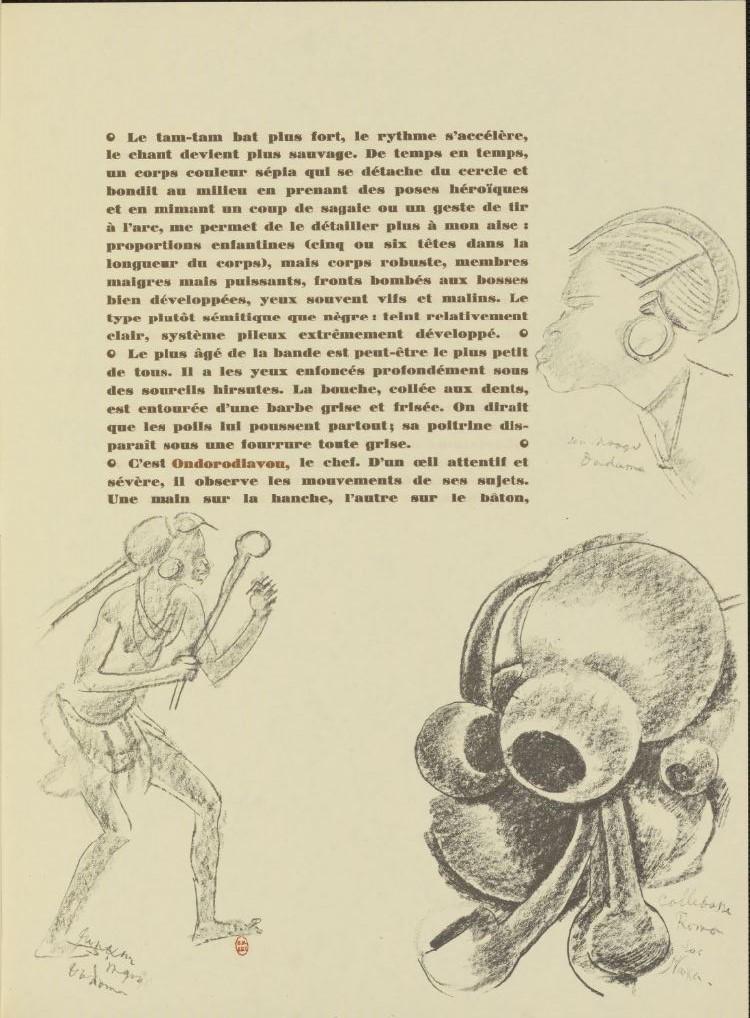 en parallèle de la Croisière Noire...des dessins 22102