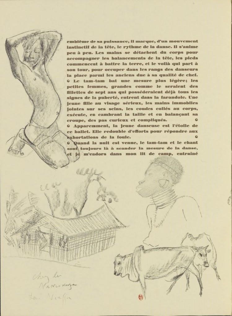 en parallèle de la Croisière Noire...des dessins 2373