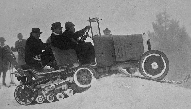 Concours de chars de montagne  au Mont Revard 2425