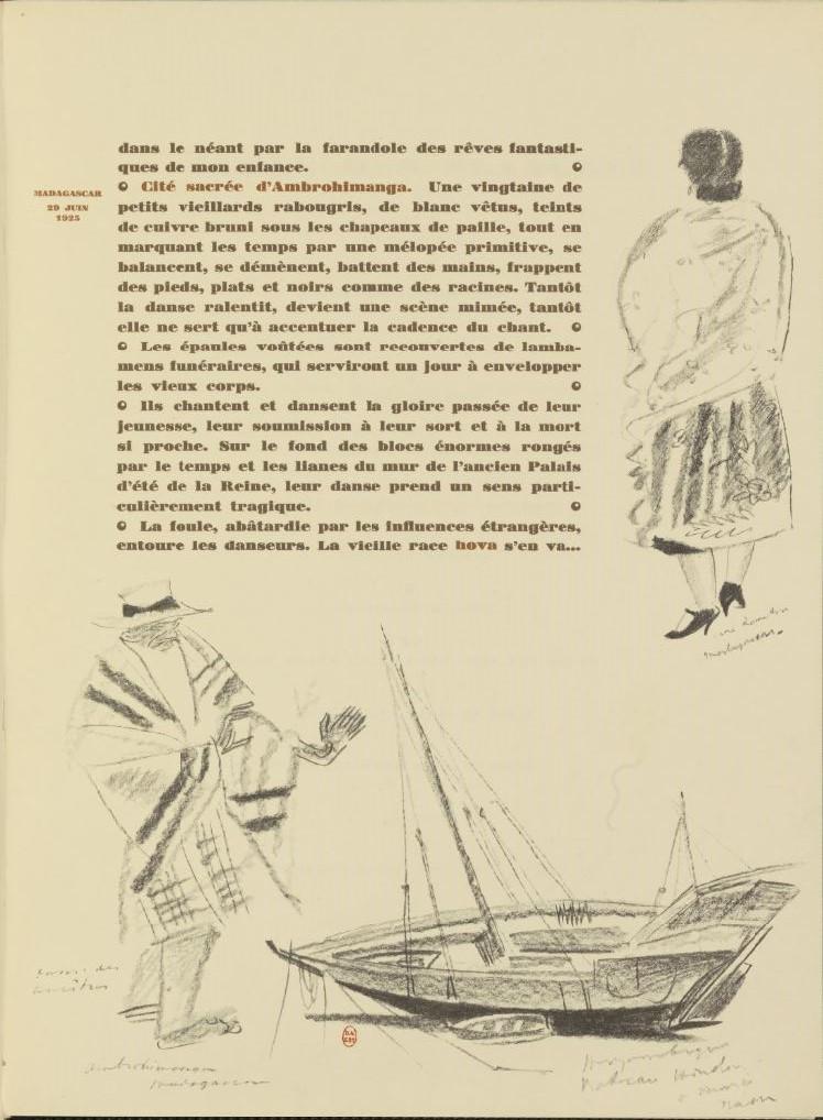 en parallèle de la Croisière Noire...des dessins 2426