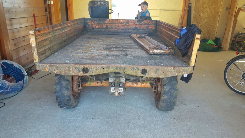 pasquali - La restauration du Transporter PASQUALI 958/4 de BIDULE 52 268
