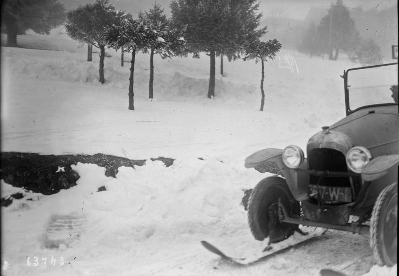 Concours de chars de montagne  au Mont Revard 2720