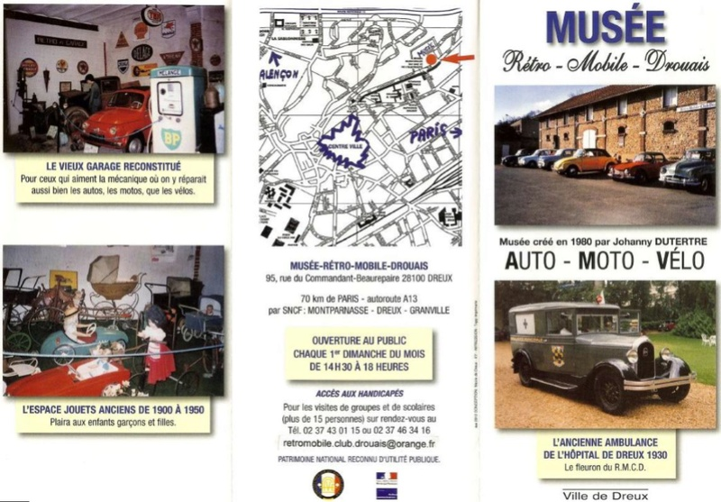MUSEE RETRO MOBILE DROUAIS  ( 28 - DREUX) 4189