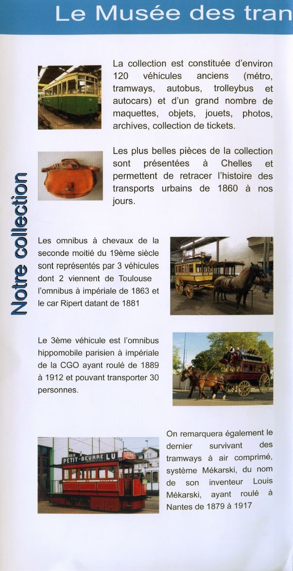 MUSEE Collection Transports en commun - AMTUIR (77 - CHELLES) 4191