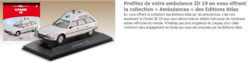 """Collection """"AMBULANCES"""" chez ATLAS 5136"""