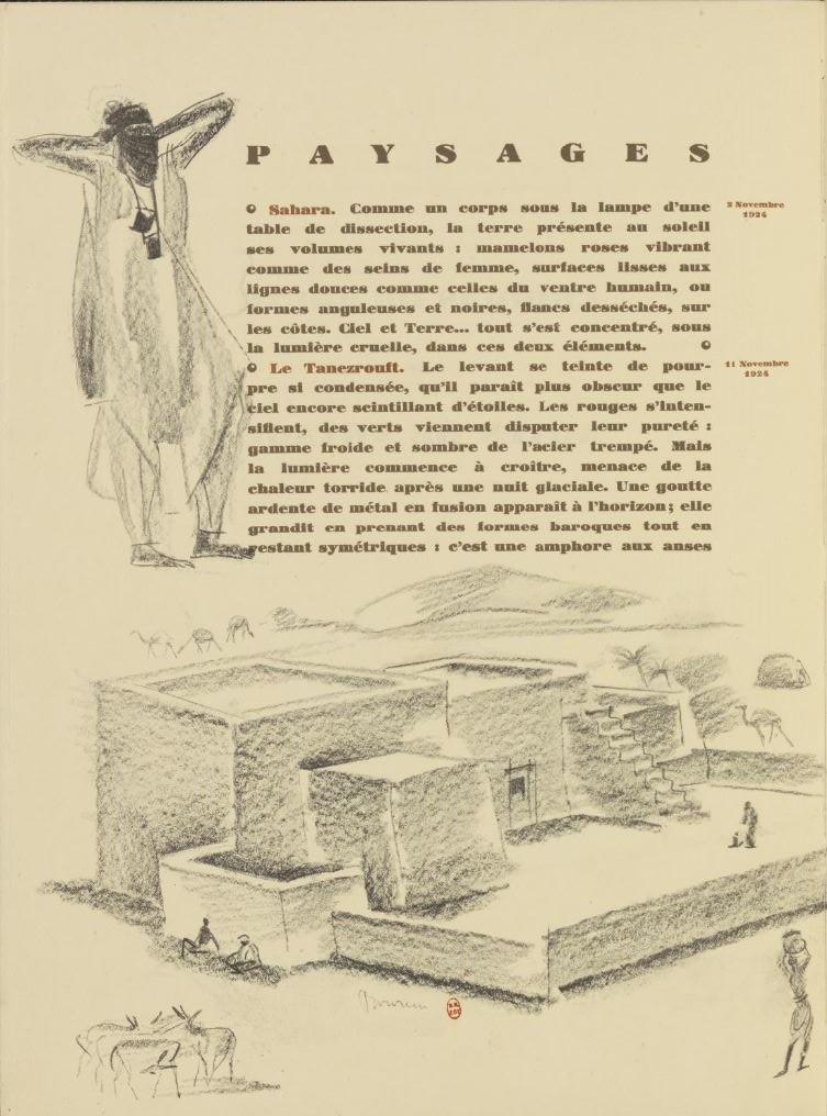 en parallèle de la Croisière Noire...des dessins 5162